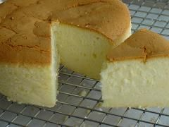 "Ingredients 350g cream cheese, softened to room temperature 30g cake flour 40g corn starch 40g milk, room temperature 3 egg yolks 40g unsalted butter, melted and cooled to room temperature 40g sugar a pinch of salt lemon juice from half a lemon 3 egg whites 100g sugar Method Line a 7""x3"" round cake pan with parchment. Preheat oven to 300F. Boil water for bain marie. Using the paddle, beat cream cheese with mixer until smooth at medium speed. Add egg yolks one by one to cream cheese. Make…"