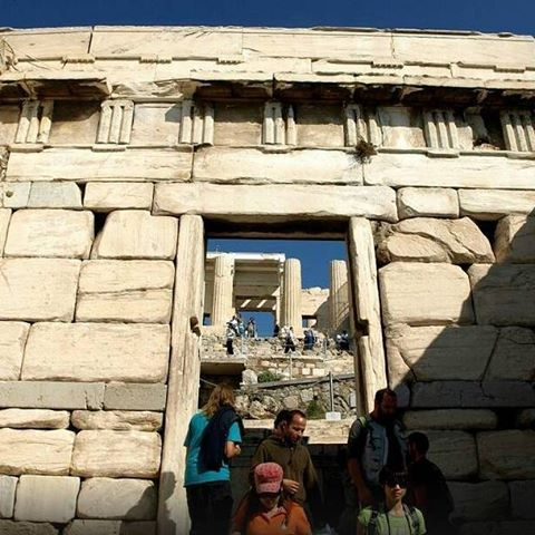 Greece 🇬🇷  Today, 1st #Sunday of #March, entrance to the #Acropolis is FREE!🙌 #Athens #walkingtour #Parthenon #travel… #traveltips #travel