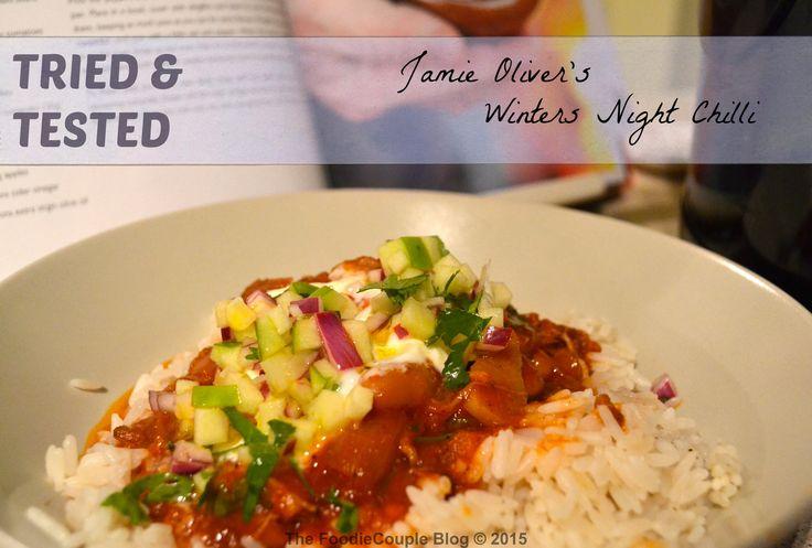 Winters Night Chilli - a Jamie Oliver Recipe