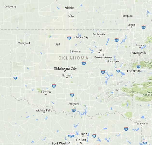 List of Universities in Oklahoma | Map of Oklahoma Colleges and Universities