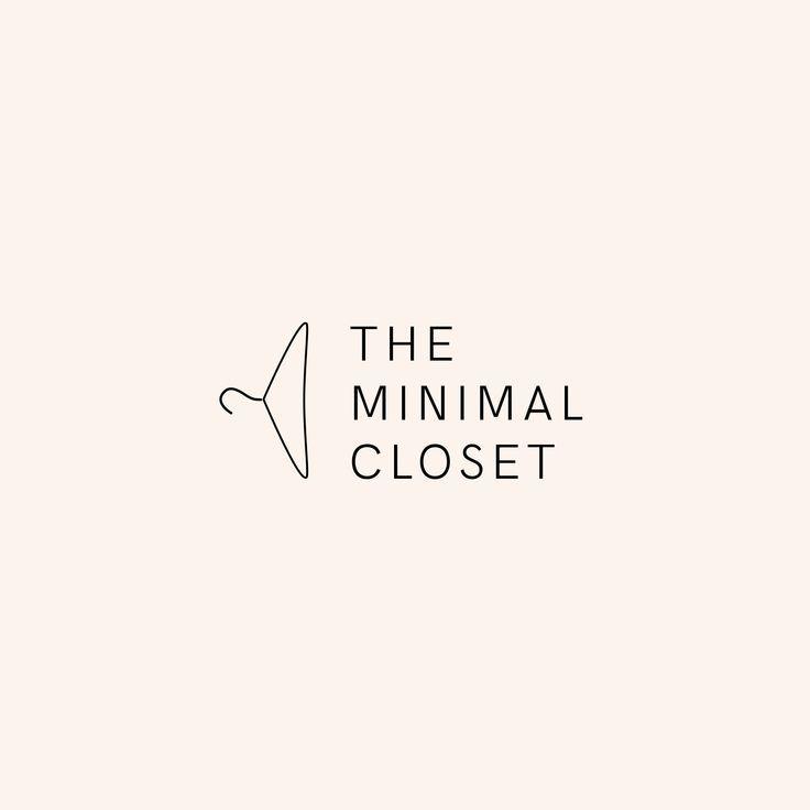 The Minimal Closet Logo Design By Studio Tkfv Branding Logo Design Brand Identity Brand I Clothing Brand Logos Clothing Logo Design Branding Design Logo