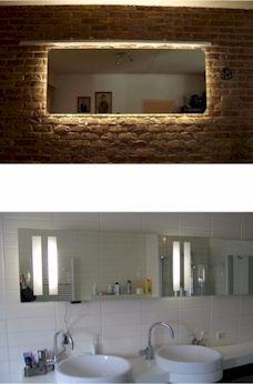 12 best LED spiegels maatwerk images on Pinterest   Homemade ice ...