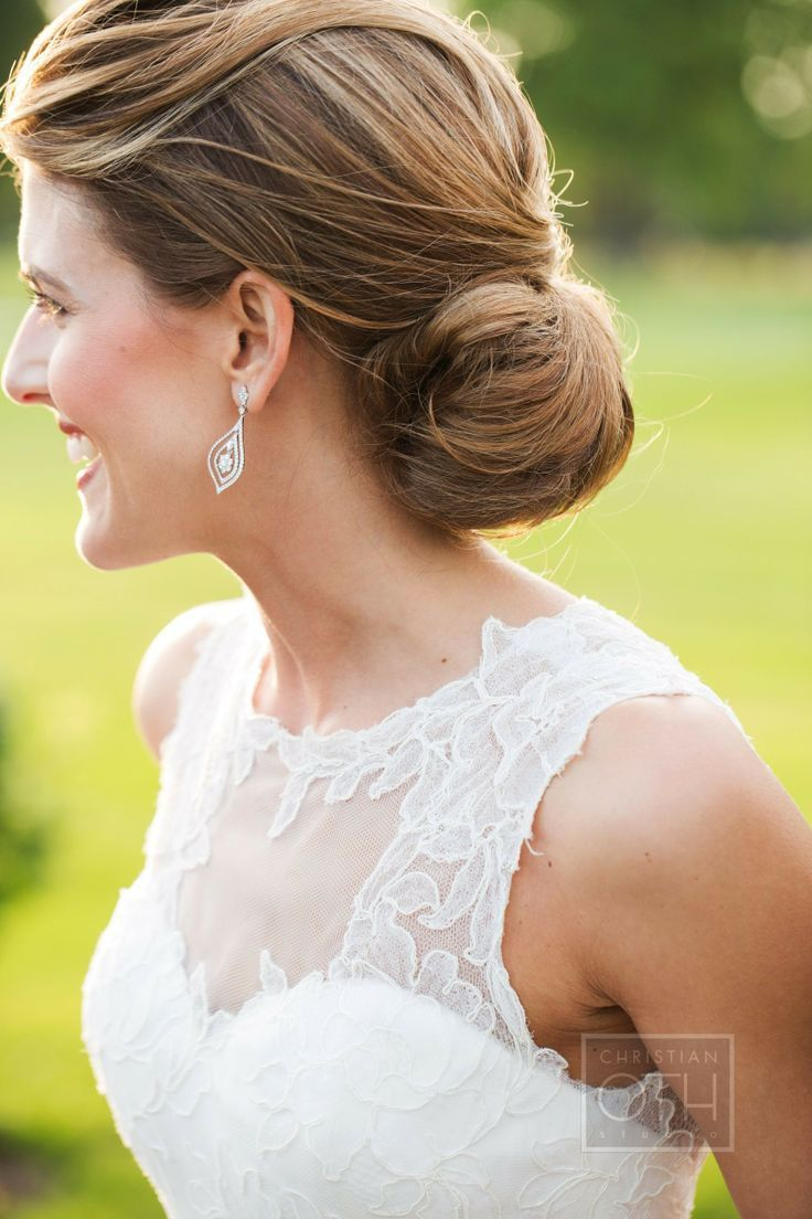 30 chignon Hairstyles wedding for Spring.The perfect hairstyle for brides  or bridesmaids! sophisticated