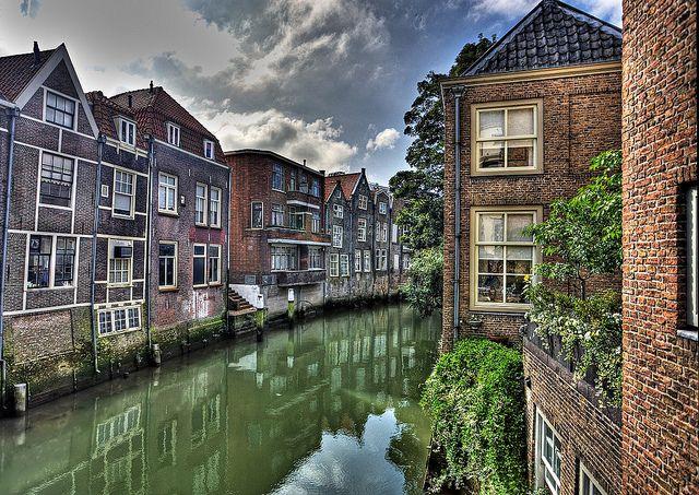 Dordrecht, Netherlands, canal  