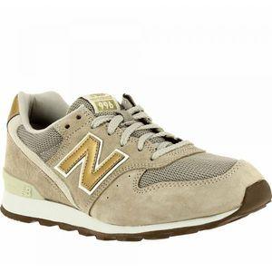 Chaussure New Balance Wr996 Beige/Gold