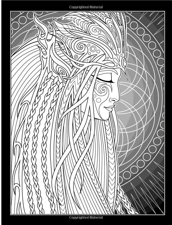 Amazon.com: The Lumina Chronicles: A Fantasy Coloring Experience (9781523739462): Cristina McAllister: Books