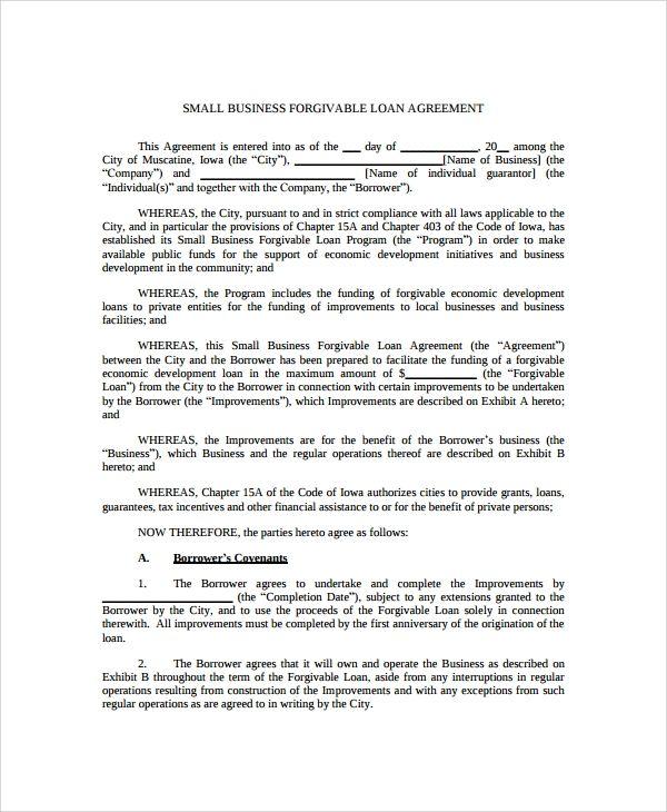 Business Loan Agreement Business Loans Loan Lending Company