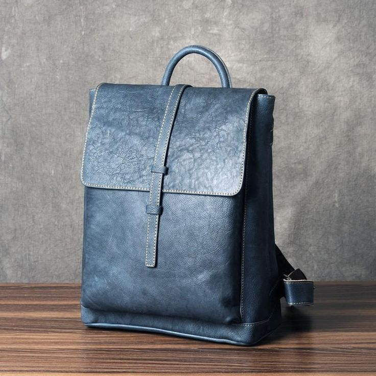 LEATHER BACKPACK - Women Backpack Purse from Full Grain Leather GZ015
