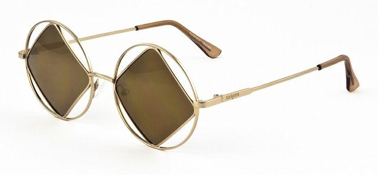 Le Specs LS Rudeboy-gold 599 SEK #lespecs http://www.loveyewear.se/solglasogon/le-specs-ls-rudeboy-gold-guld/