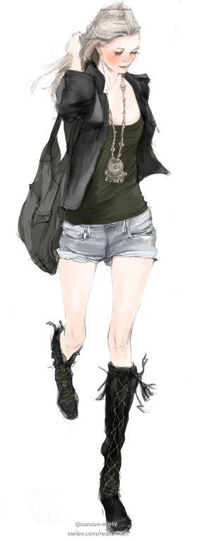 #illustration #fashion