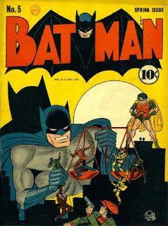 Batman #5 - First appearance of the Batmobile. DC Comics