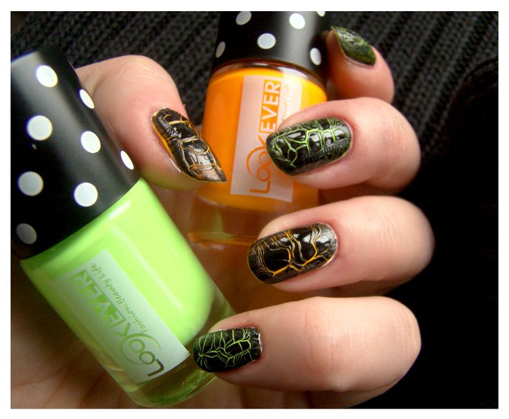 Crackle Manicure by Look Ever