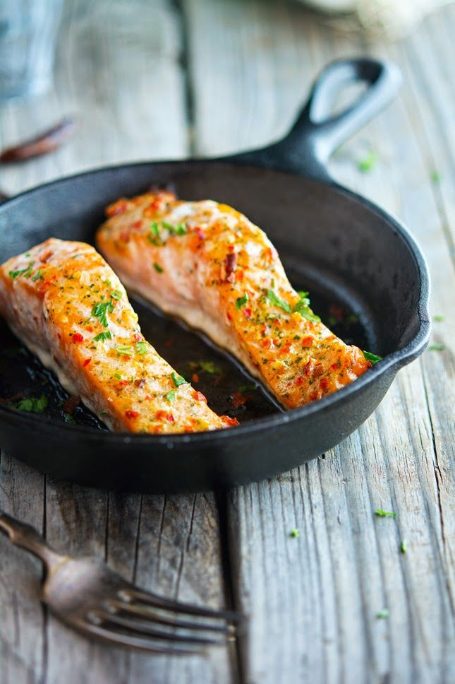 Thai Sweet Chili Glazed Salmon ~ the marinade looks amazing and would work with other fish.