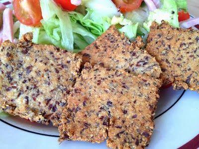 Amandel-Lijnzaad crackers