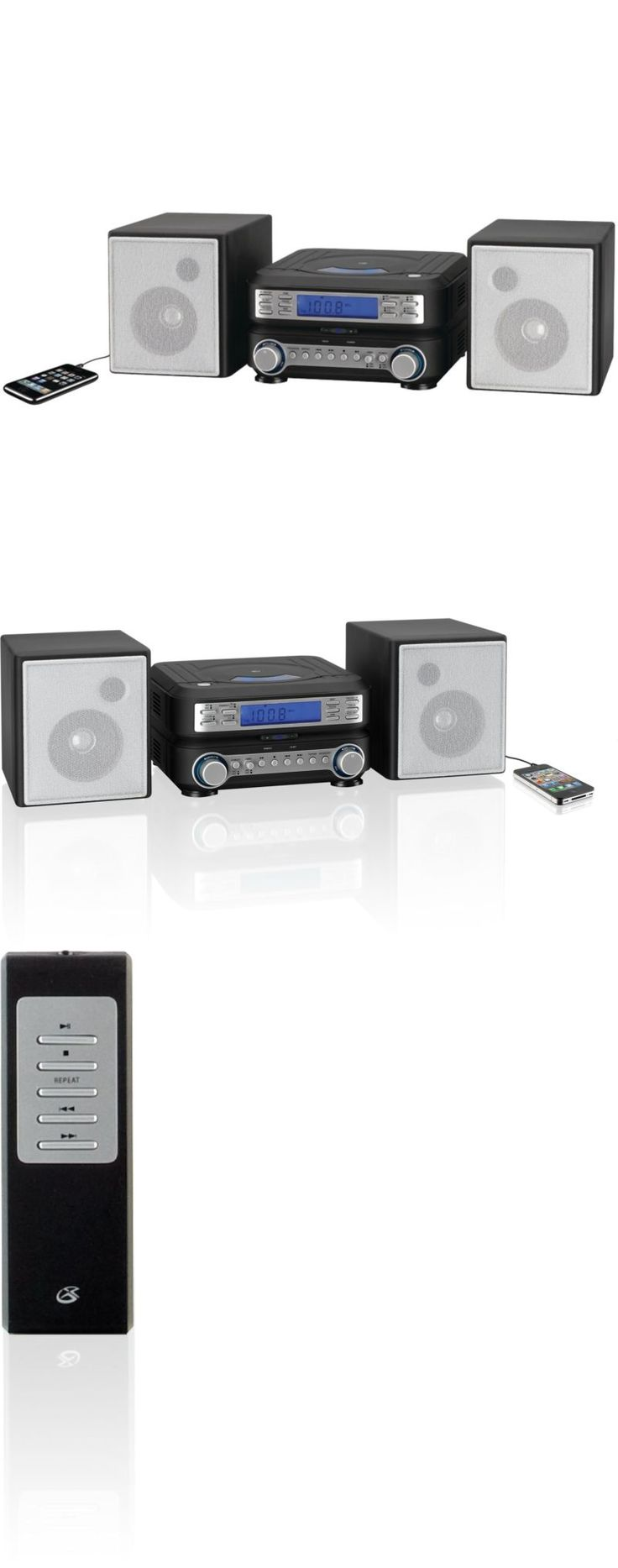 Kitchen shelves light blue jpg w 220 amp h 220 amp q 85 - Compact And Shelf Stereos New Compact Mini Stereo System Shelf Cd Player Mp3 Am Fm