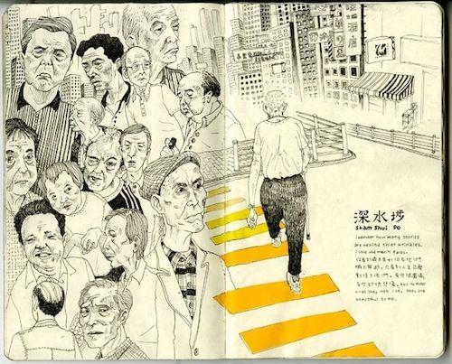 The Sketchbook of Julia Yellow.