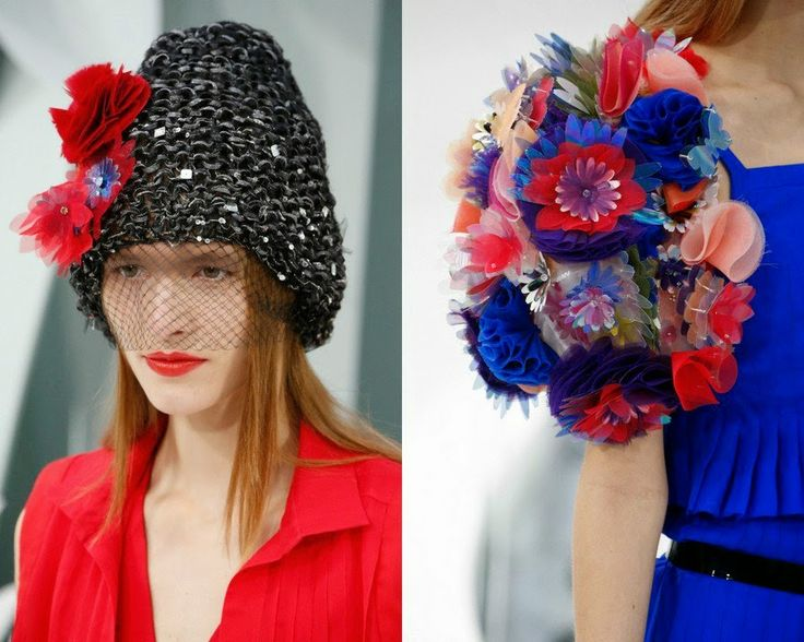 crochet knit unlimited: CHANEL COUTURE Spring-Summer 2015 Hats