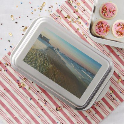 Daytona Beach Shoreline and Boardwalk Cake Pan - kitchen gifts diy ideas decor special unique individual customized