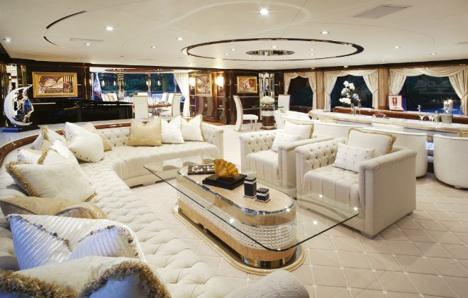 $ 59,500,000 Yatch: Diamonds Are Forever