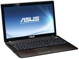 ASUS K53SD-SX132V 15.6 inch Versatile Performance Notebook Black  Intel® Core™ i5-2450M (2C, 2.50GHz, Turbo Boost to 3.10GHz) 4GB DDR3 RAM 750GB SATA HDD DVD SuperMulti Drive 15.6 inch HD (1366 x 768) LED Backlight display NVIDIA® GeForce® 610M