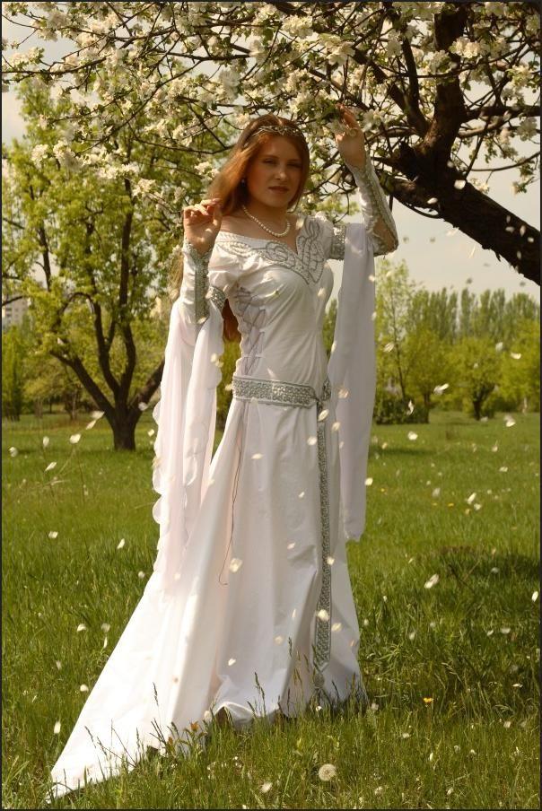Celtic Wedding Dress My Style Pinterest