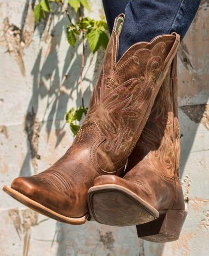 Love those cowboy boots from Cavenders