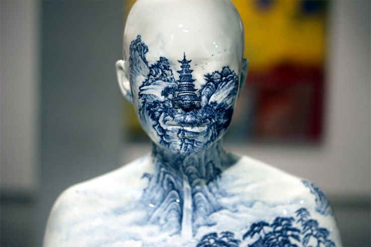 Sydney artist Ah Xian explores the human form by creating these Chinese porcelain sculptures - Lost At E Minor