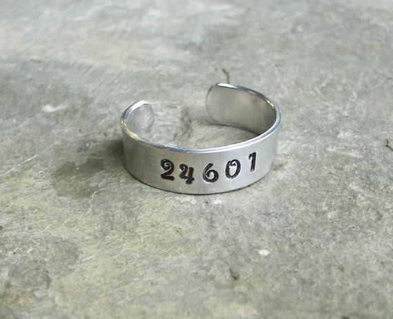 Les Miserables Inspired  24601  A Hand by ChrisClosetCreations, $10.00