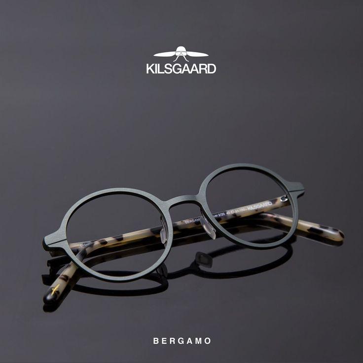Kilsgaard is Danish and true to the elegant designs. Bergamo is a tribute to the classic shapes that lasts for decades.  __ #kilsgaardeyewear #kilsgaard #aluminum #eyewear #frames #spectacles #briller #specs