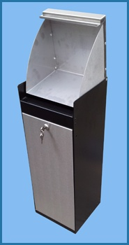 The Stainless Steel Nappy Bin from paragon Products additional range of healthcare products. Perfect for paediatricans, hospitals and any healthcare facility. Visit our site for more information.
