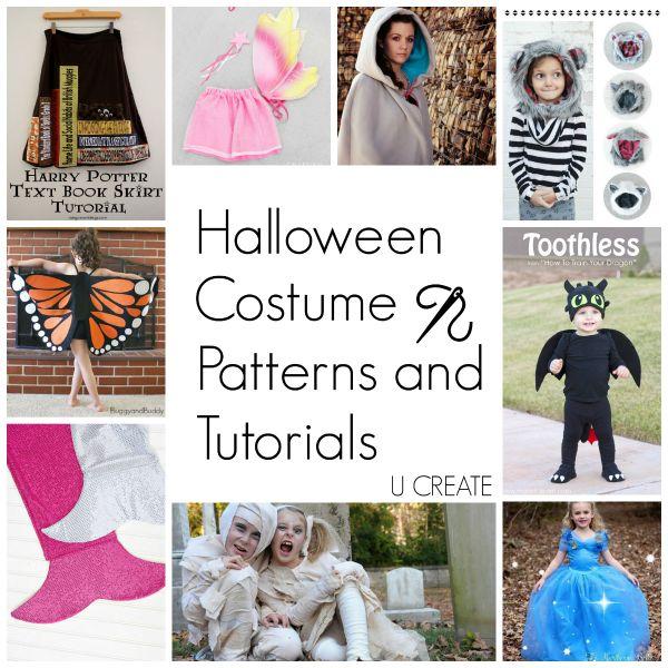 free halloween costume patterns and tutorials - Free Halloween Costume