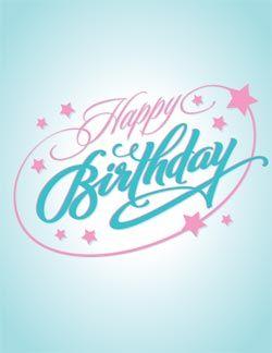 Happy Birthday eGifter greeting card!