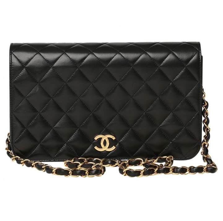 Stunning Chanel Bag in Leather with #Gold Hardware which would make a stunning and timeless gift | #Ad