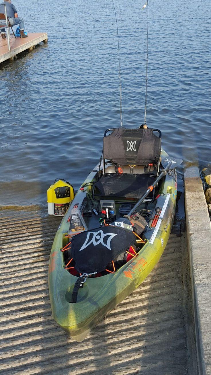 807 best kayak images on pinterest for Best bass fishing kayak