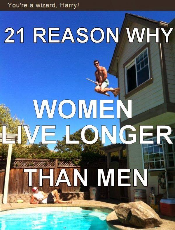 The reason why women live longer