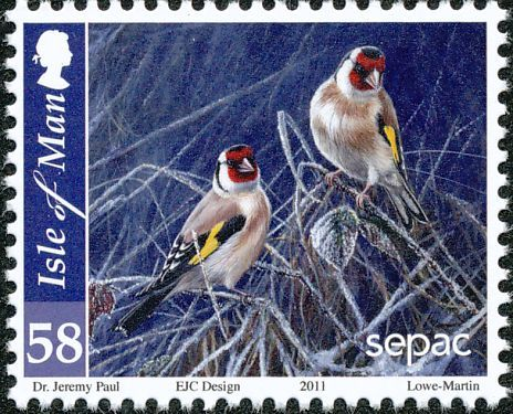 European Goldfinch stamps - mainly images - gallery format