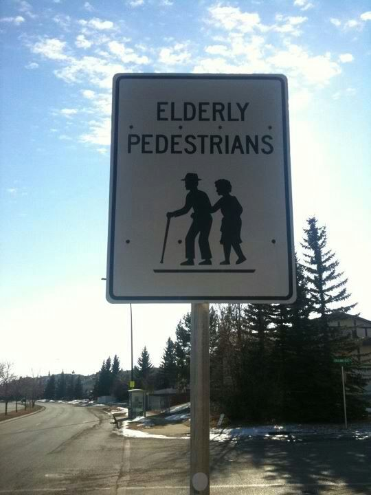 A real street sign here in Canada.