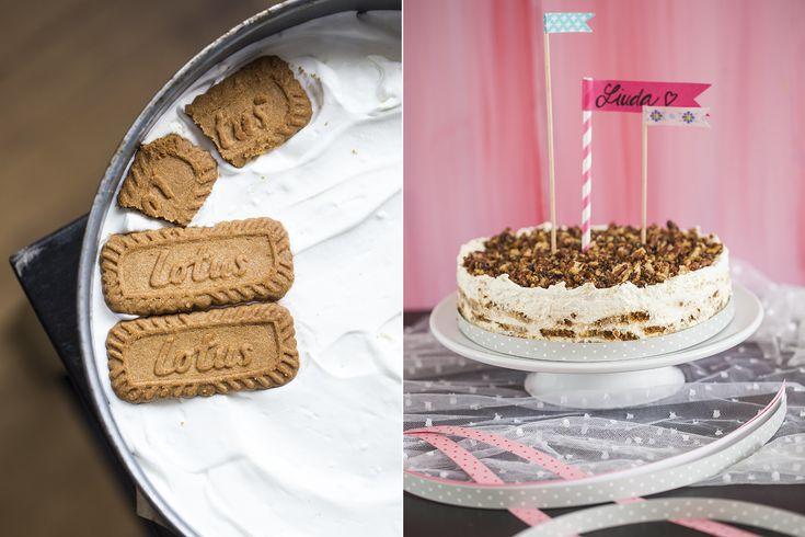 Karamelovo smetanový dort s pekanovými ořechy