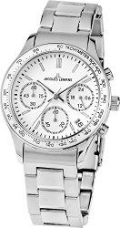 Jacques Lemans Rome Sports 1-1587ZG – Women's Watch, Watch Band Stainless Steel Silver Tone