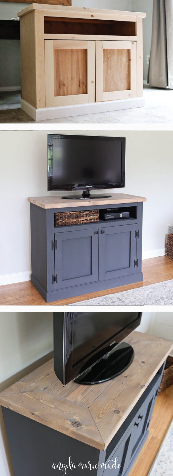 Modern Living Room Lcd Tv Stand Wooden Design Fa18b: Best 25+ Rustic Tv Stands Ideas On Pinterest