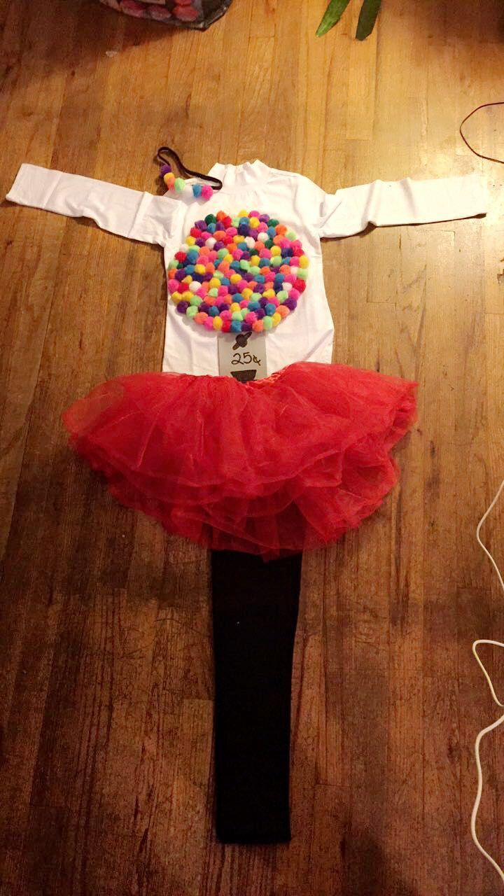 #Gumball #Machine #DIY #Halloween #Costume #Kids