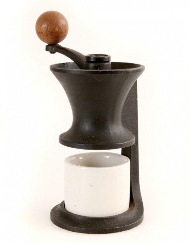 Robert Welch - Vintage cast iron coffee grinder - Mid century modern