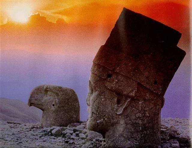 23  Nemrut Türkiye. Ancient Mind Blowing Locations | Science and Technology