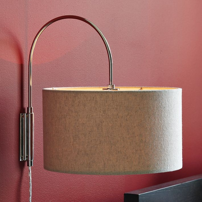 Swing Arm Wall Sconce West Elm : 1000+ images about Simple Sconces on Pinterest