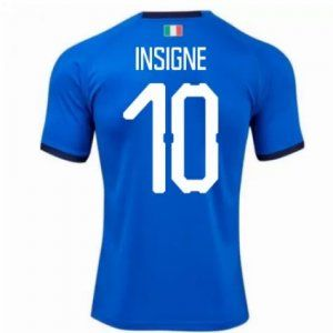 2018 Italy Home Insigne Football Shirt [L697]