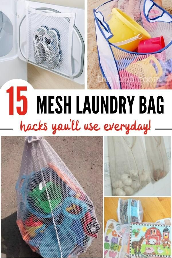 15 Ways Mesh Laundry Bags Can Make Your Life Easier Mesh Laundry