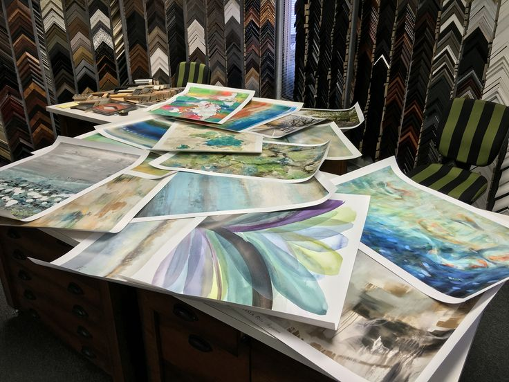 Just arrived! Awesome new art images for waking up your walls! Stop by the studio soon to see what's new!