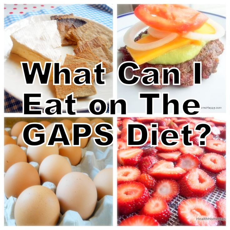 What is the GAPS diet? What is allowed on GAPS: Meat ...