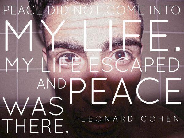 Leonard cohen poems book of longing leonard