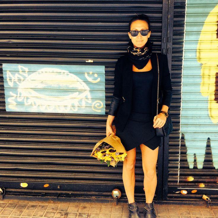 La Street C'est Chic y Barcelona #StreetStyle #StreetArt #Barcelona